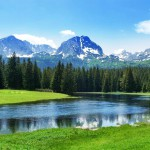 Mountain scenery, National park Durmitor, Montenegro